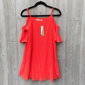 Do + Be • Crepe Coral Mini Dress
